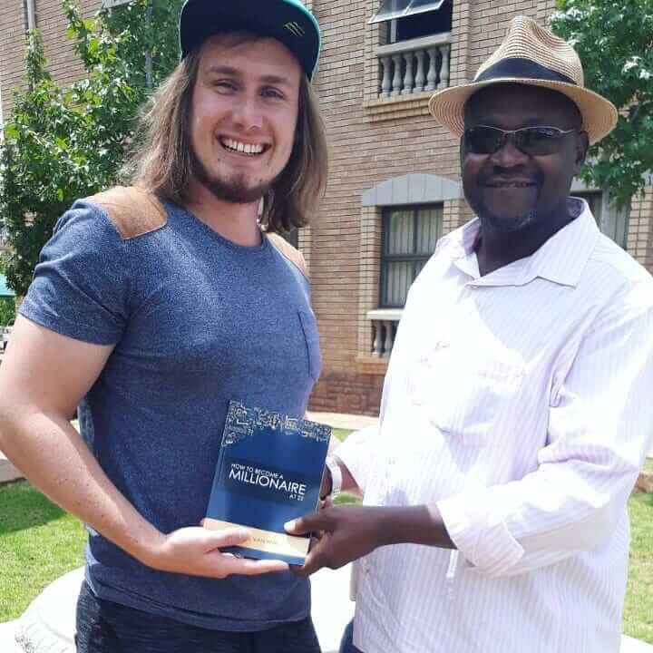 Albert van Wyk Millionaire in South Africa BUY THE BOOK